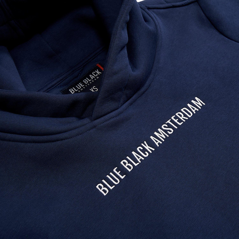 Blue Black hoody Sem