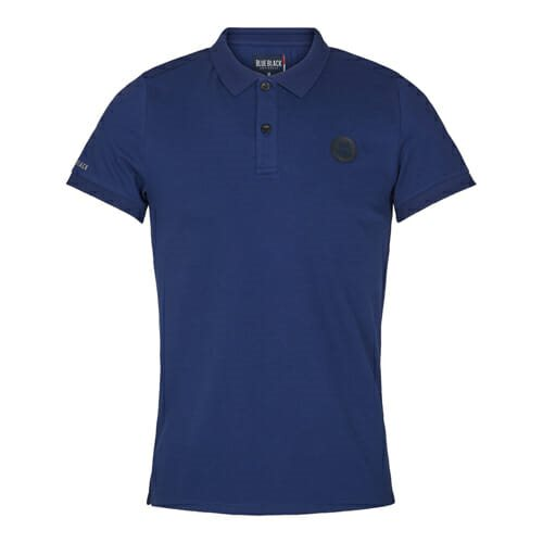 Blue Black polo