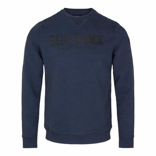 Blue Black sweater Milan