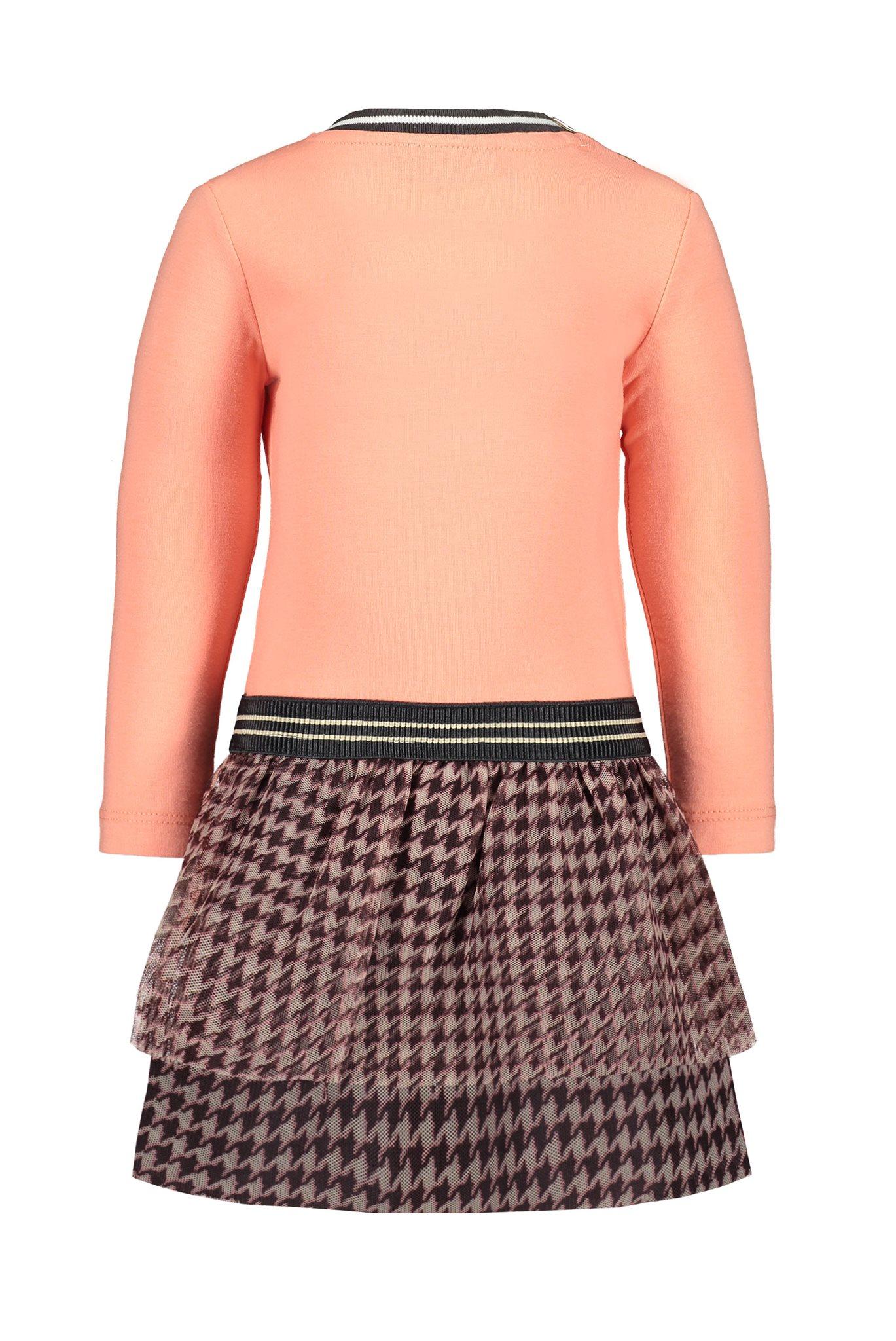 Flo baby girls jersey dress ls