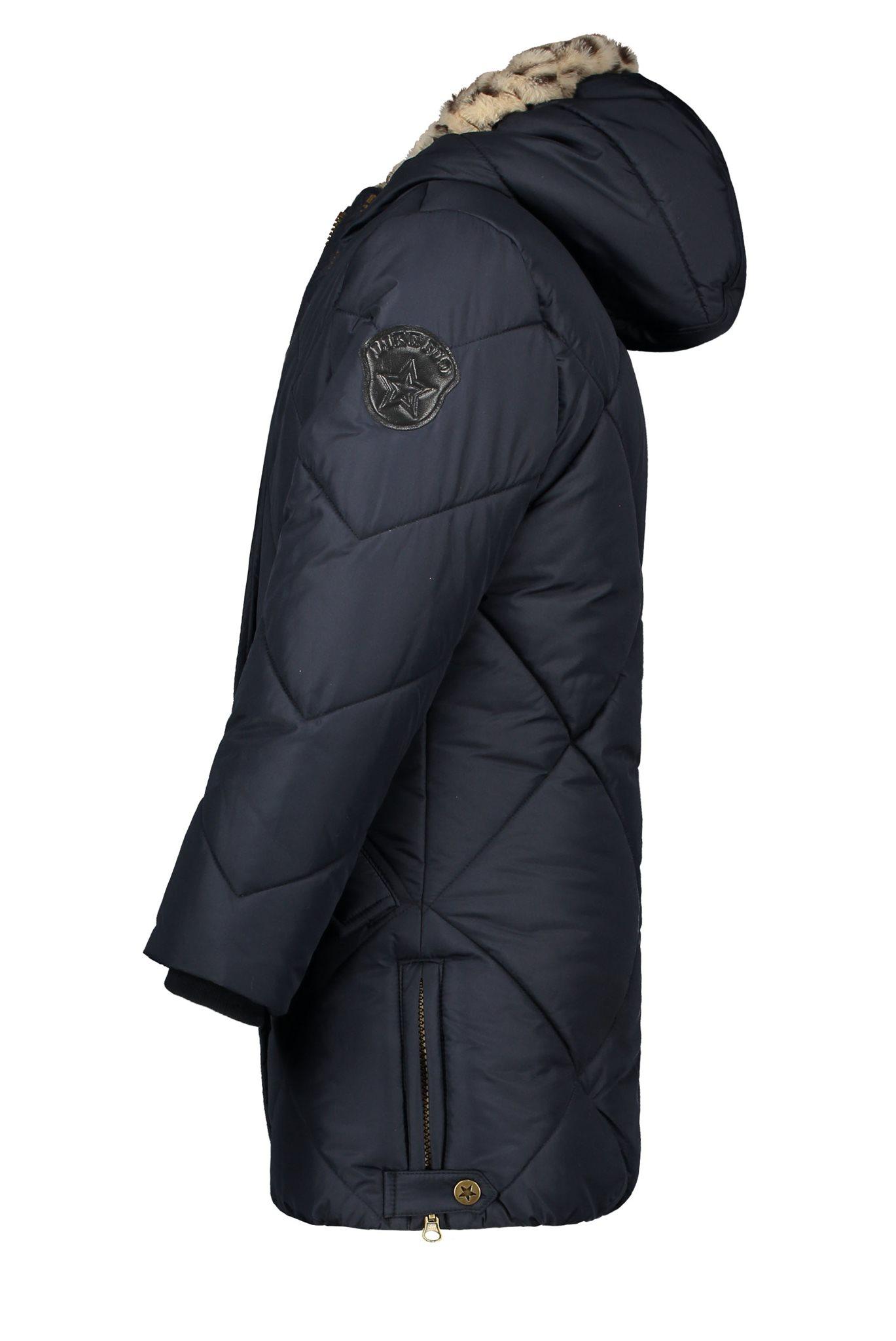 Flo jas donkerblauw panter