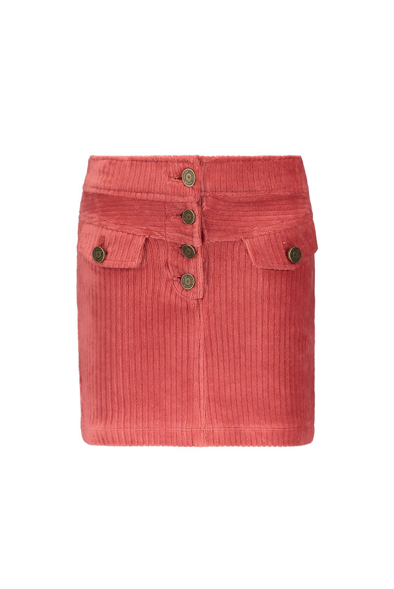 Flo rib velvet skirt
