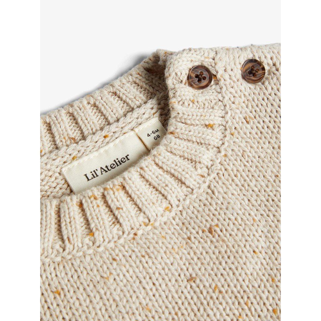 Lil Atelier ls knit lil