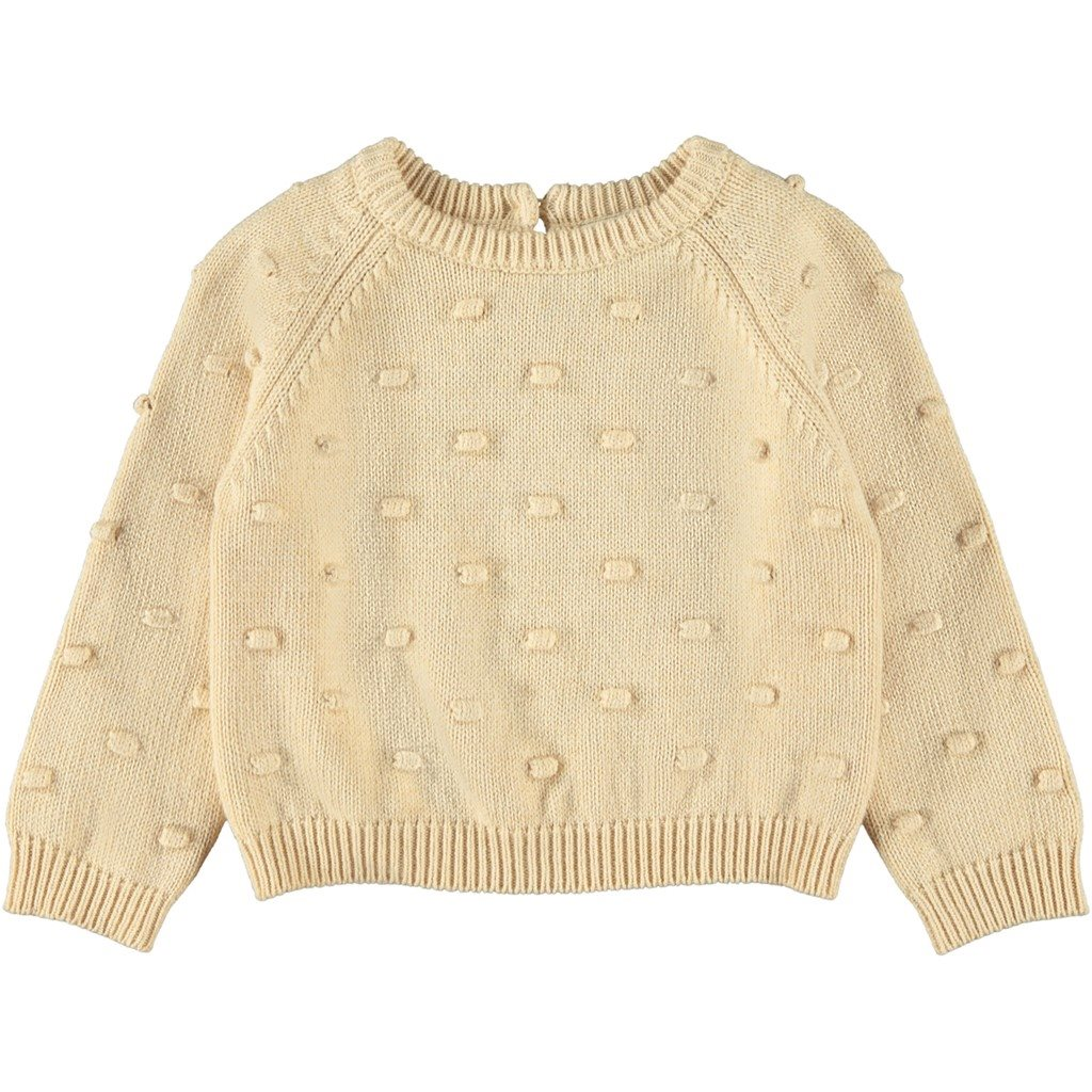 Lil Atelier short knit sweater