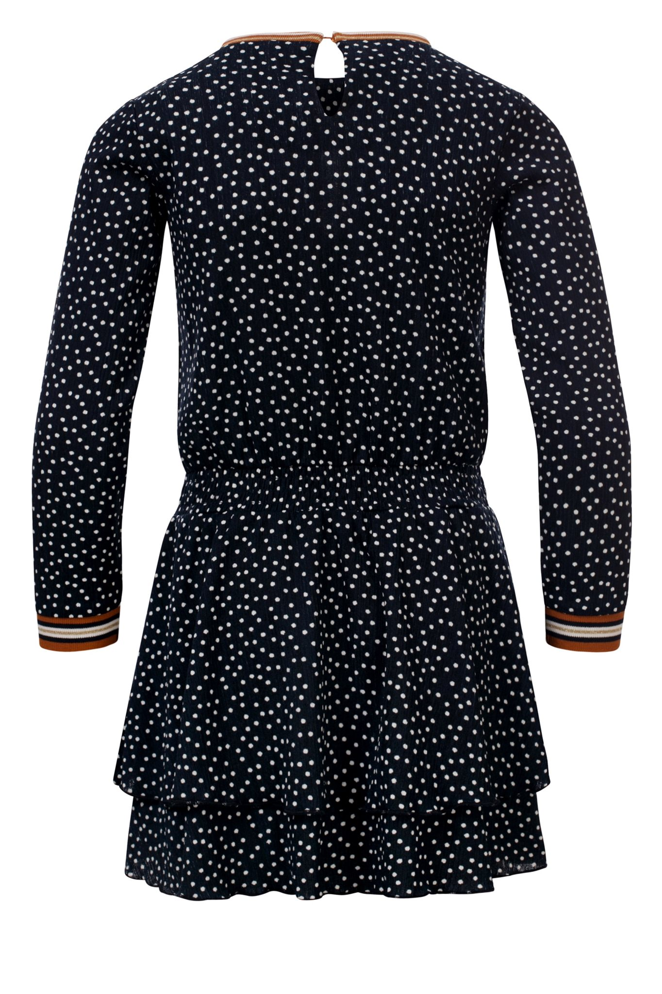 Little Looxs navy dot dress