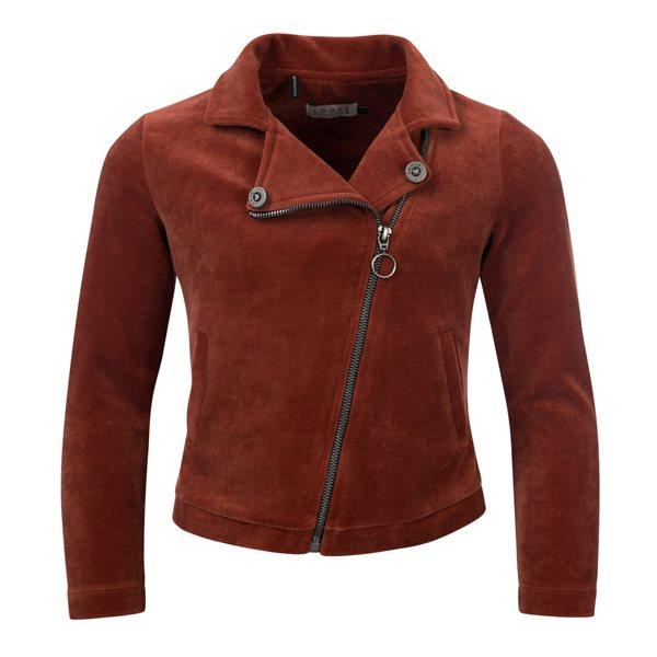 Looxs velours biker jacket