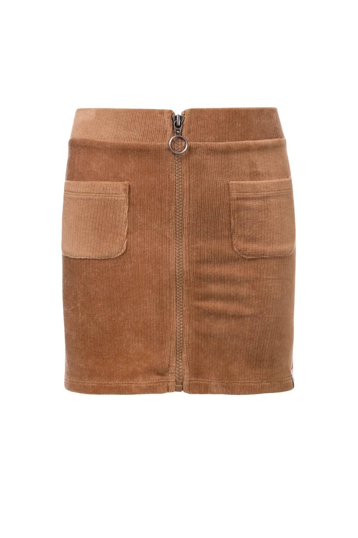Looxs velvet rib skirt