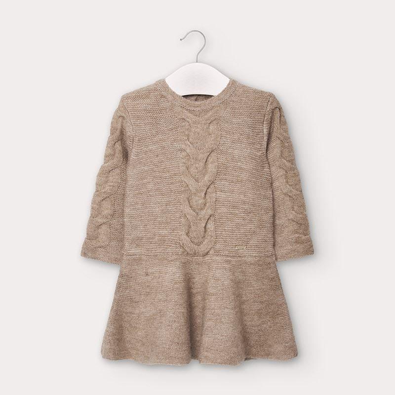 Mayoral lurex knit dress