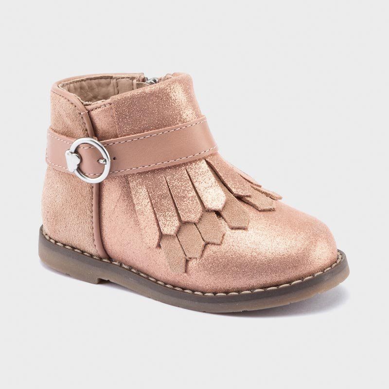 Mayoral pink glitter boots