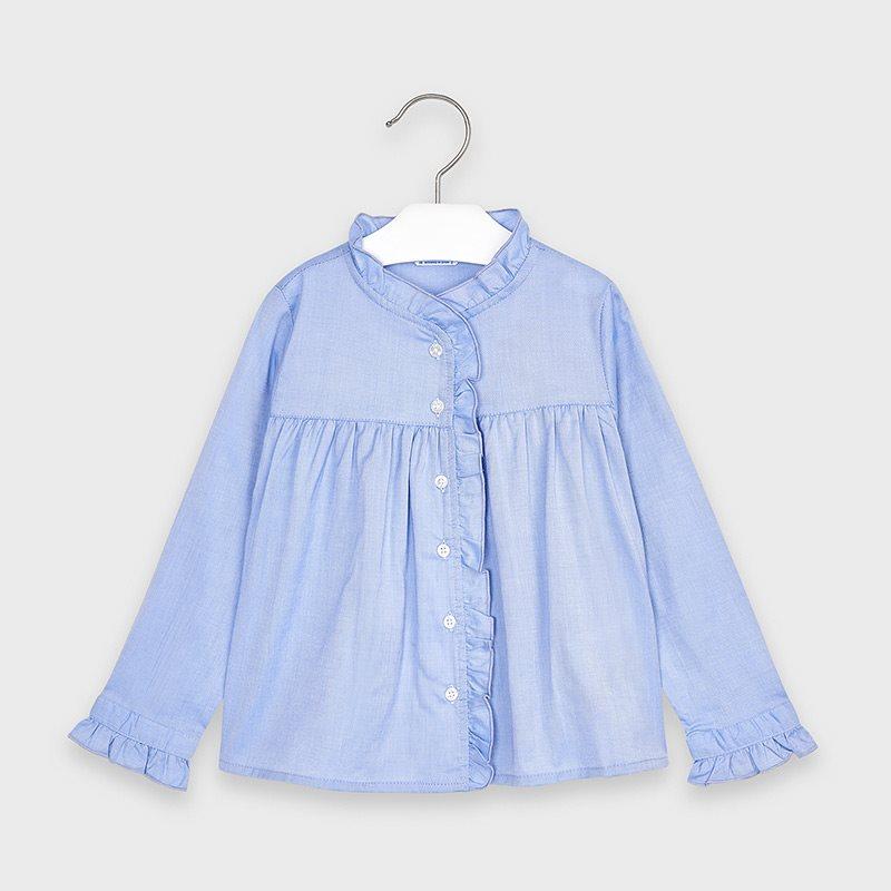 Mayoral ruffel blouse