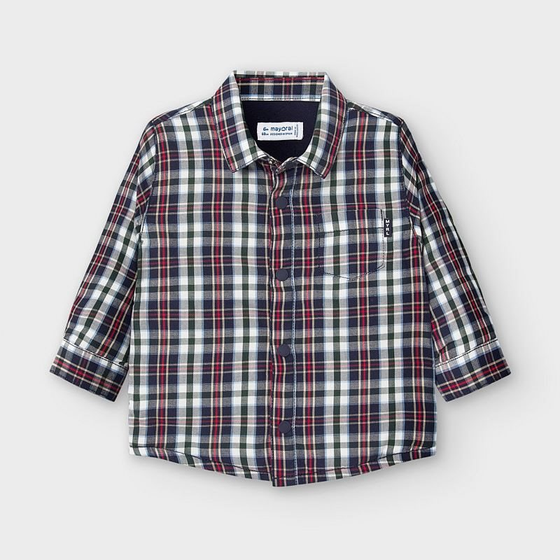Mayoral ruitjes blouse