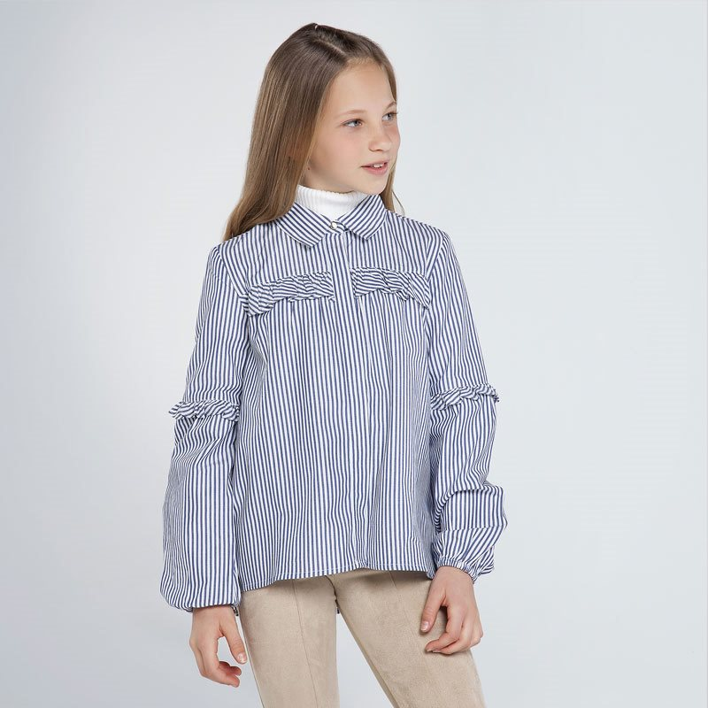 Mayoral stripe blouse