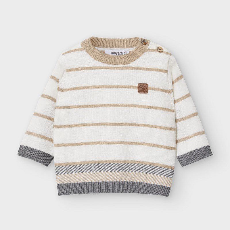 Mayoral stripe knit sweater