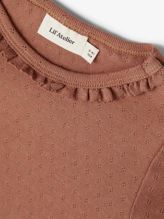 Lil Atelier shirt Safran