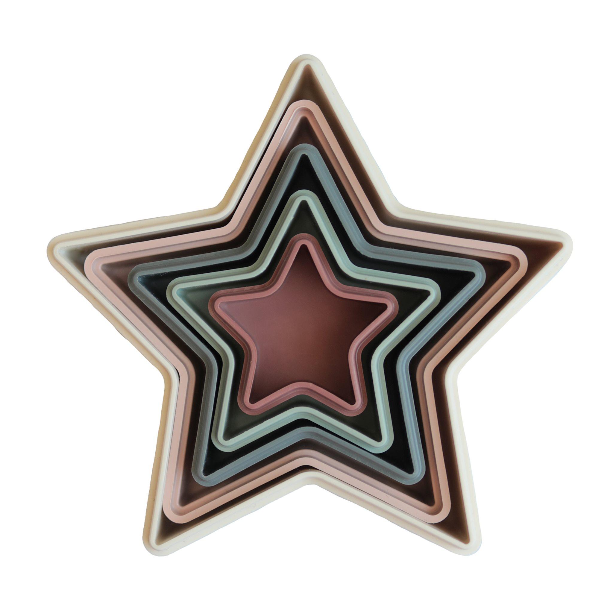 Mushie nesting stars