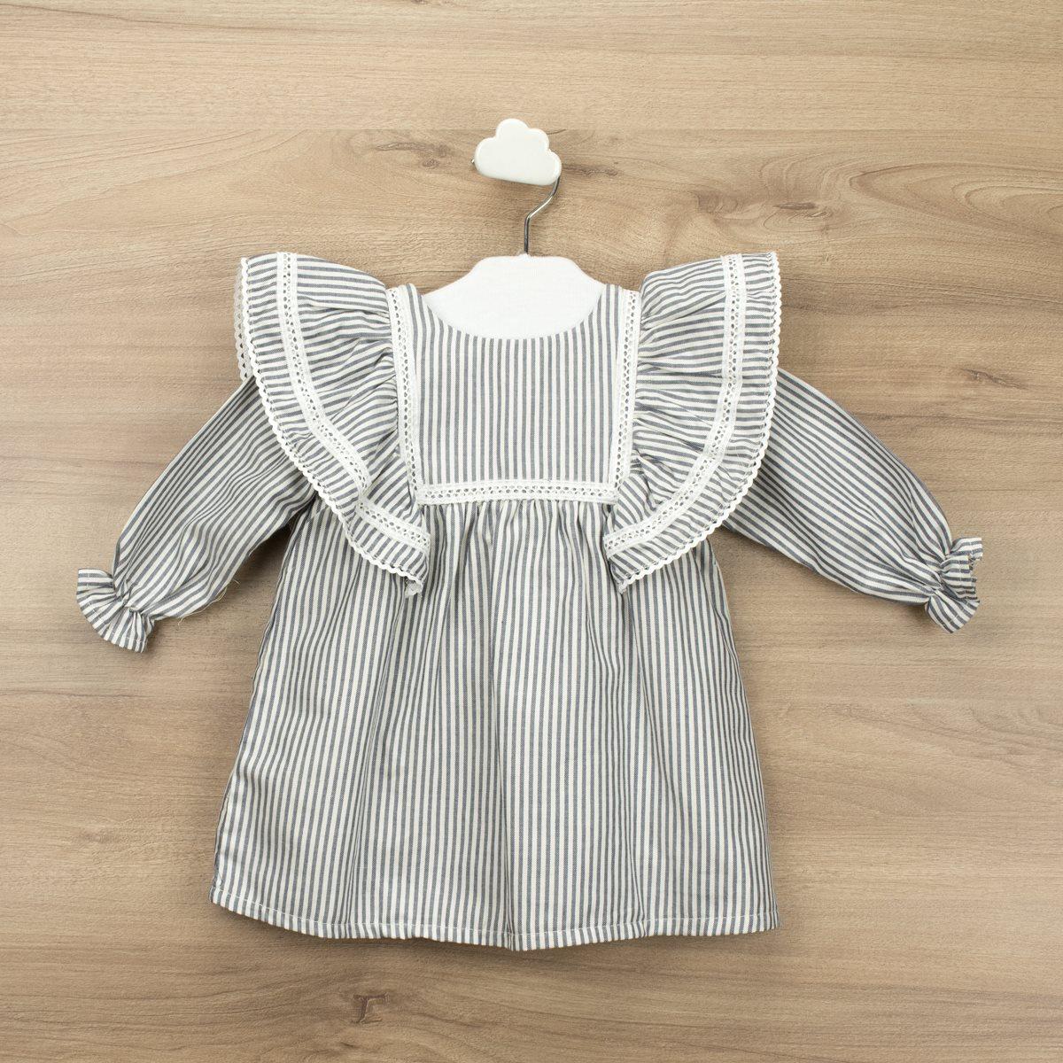Babidu jurk stripes