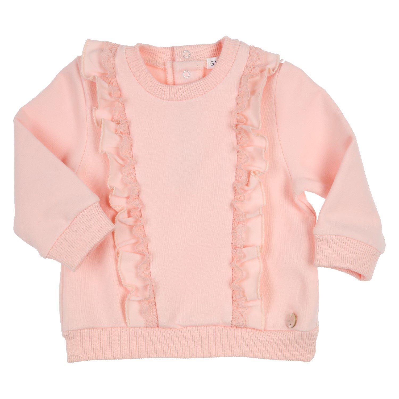 Gymp Sweater flounces & lace