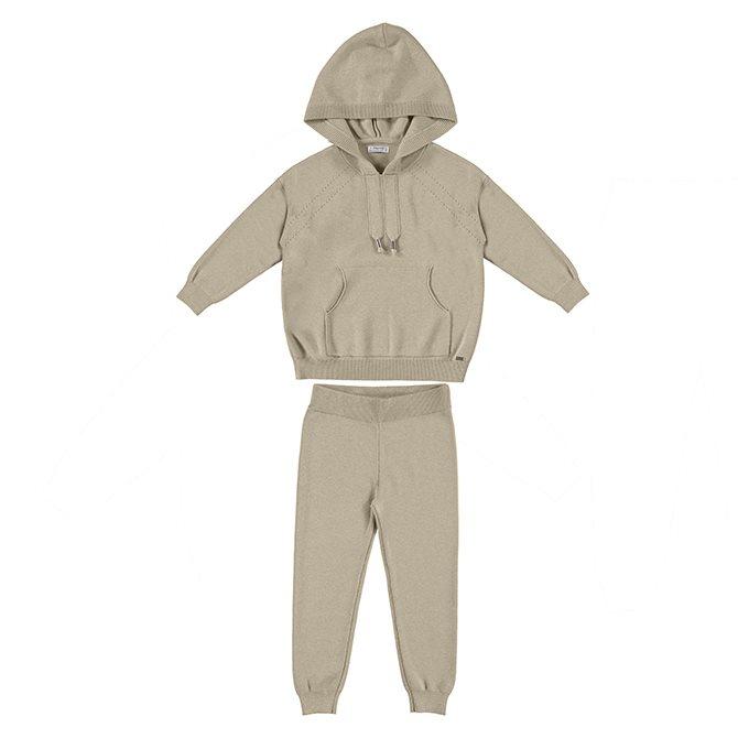 Mayoral comfy suit camel