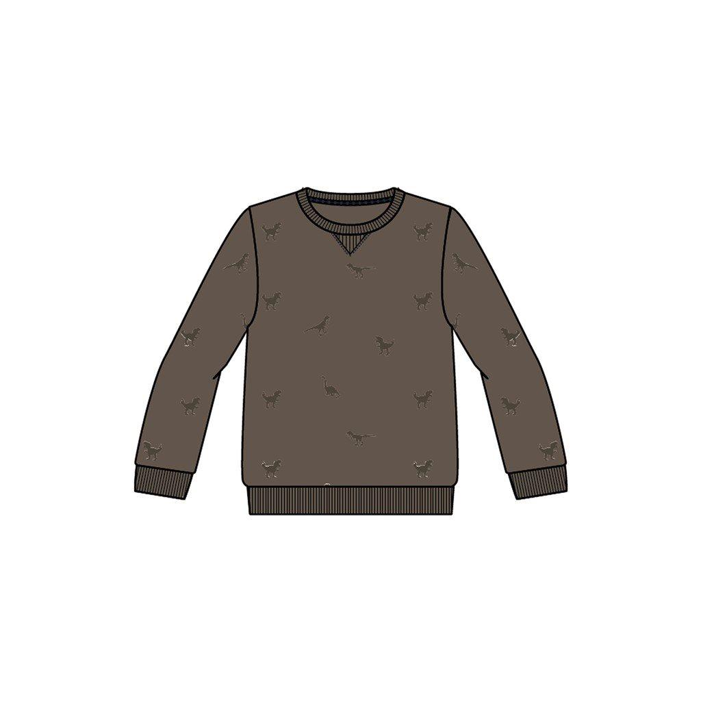 Name It sweater Lander khaki