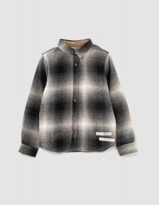 IKKS check blouse