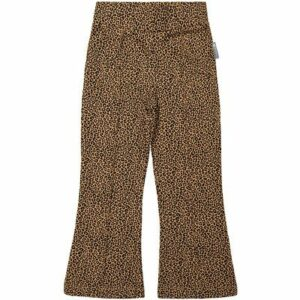 Flaired pants leopard