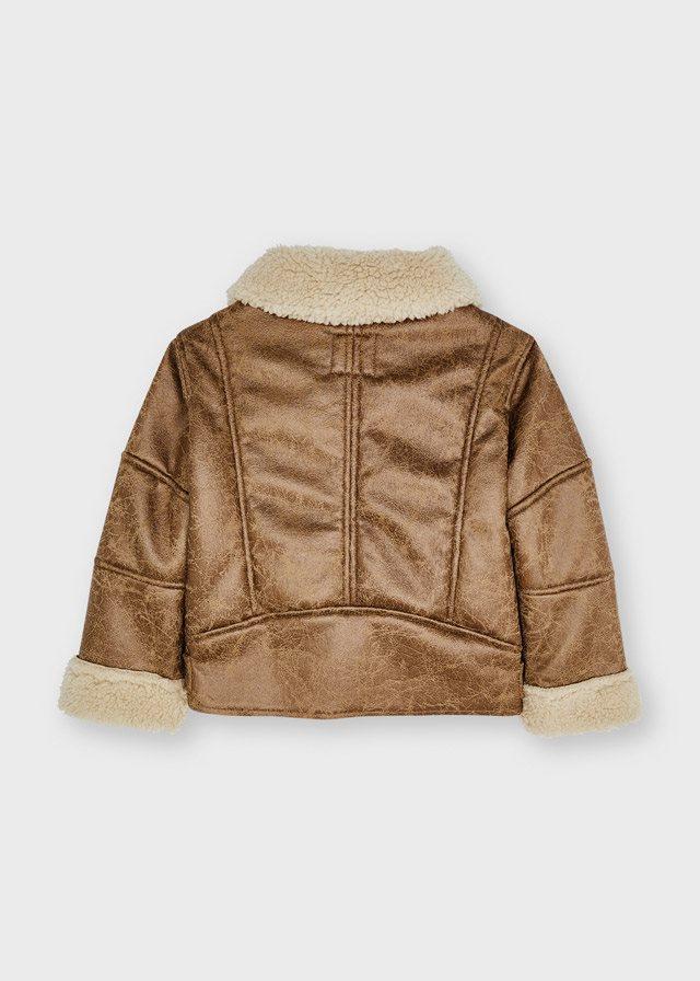 Mayoral Shearling coat
